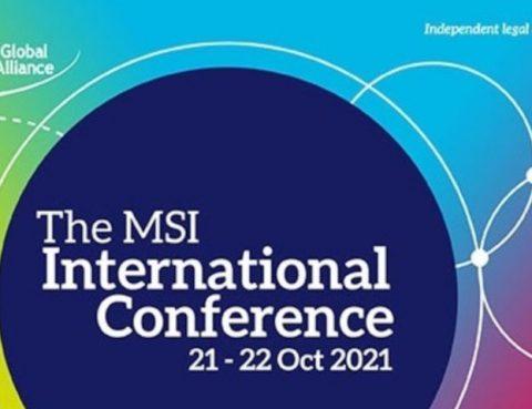 Bravo à toutes les équipes MSI pour notre International Conference qui a eu lieu online les 21 et 22 octobre