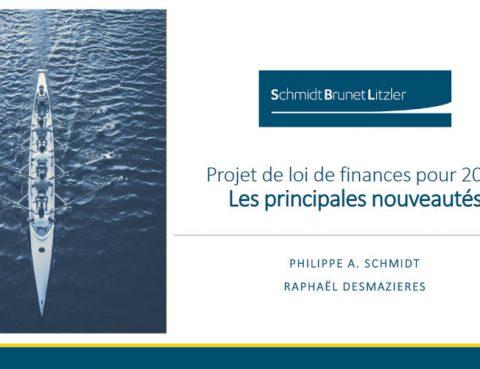 Projet Loi de Finance 2022