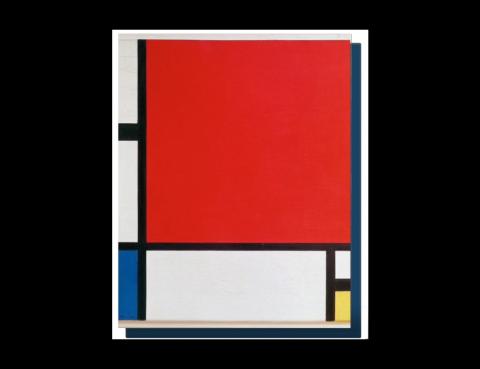 L'affaire des faux Mondrian au Centre Pompidou