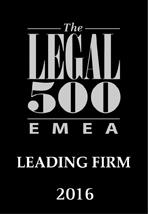 Legal 500 EMEA 2016